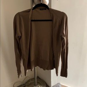 For Cynthia Light Brown Long Sleeve Sweater